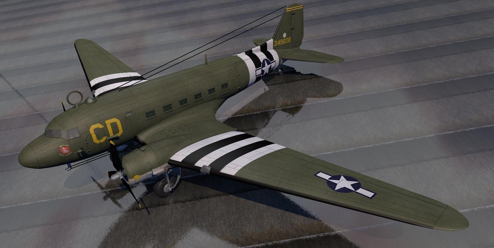 Douglas C-47 Dakota or Skytrain