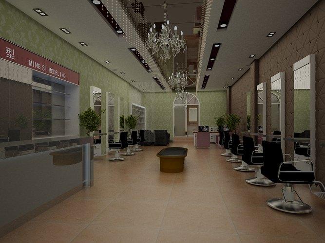 Exquisite salon 3d cgtrader for Salon en 3d
