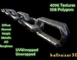 Chain - Dirty Textured 3D asset