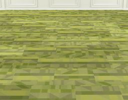 Wall to Wall Carpet Tile No 7 3D