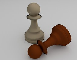 Chess Pawn 3D