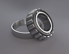 3D bearing tapered thrust