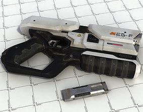 3D Sci-Fi Blaster