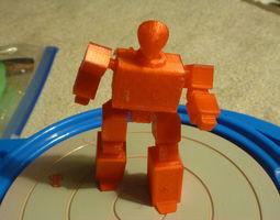 Radio Robot AAA 3D printable model