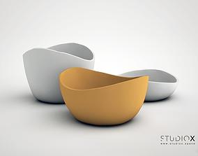 ELEMENTs RUSTIC BOWL - MEDIUM 3D printable model