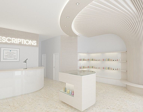 29 - Pharmacy store 3D model