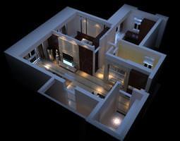 3D High-end Condo Interior