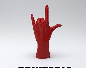 Hand rock printable