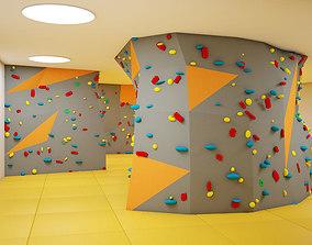 Climbing walls 3D