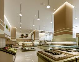 3D model Department Store Space