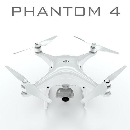 dji phantom 4 pro 3d model max obj mtl 3ds fbx c4d lwo lw lws 1