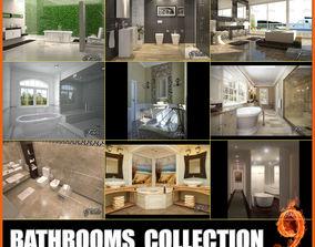 Bathroom collection 9 3D model