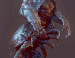 3D model underwater filth