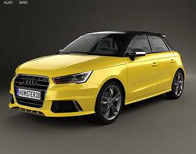 3D model Audi S1 sportback 2014