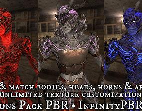 3D asset Demons Pack PBR