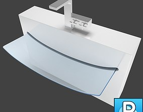 3D design Sink and faucet