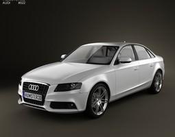 Audi A4 Saloon 2011 3D