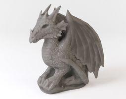 Gargoyle dragon 3D model