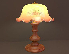 Table Lamp living 3D