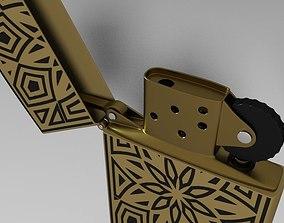 3D model lighter Zippo