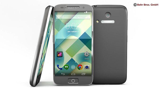 generic smartphone 4 inch 3d model max obj mtl 3ds fbx c4d lwo lw lws 1