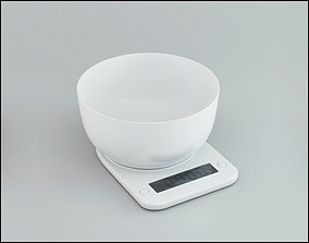 3D model Kitchen scales