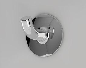 3D model Silver Metal Hook