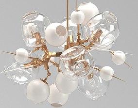 3D model Modern Lamp-Plenty of Bulbs