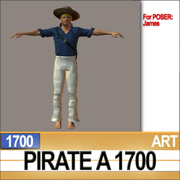 pirate props poser daz a 1700 3d model obj 3ds c4d vue pz3 pp2. Black Bedroom Furniture Sets. Home Design Ideas