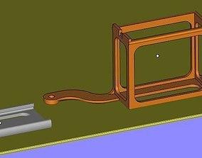 3D print model GPS holder RF-v16 for DJI Phantom