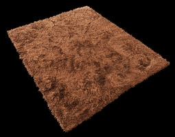 high-quality Carpet fur 3D model