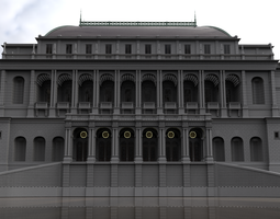 19th Century Building WIP 3D