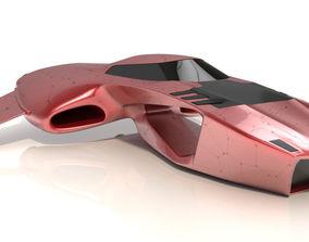 Hover car pro 3D model