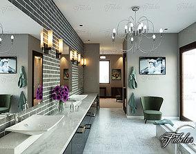 3D modern vray Bathroom