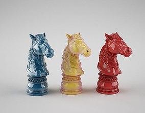 Chess horse 3D printable model
