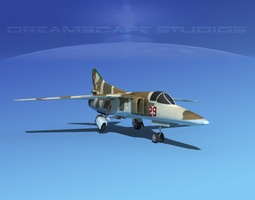 Mig-27 Flogger LP East Germany 3D model