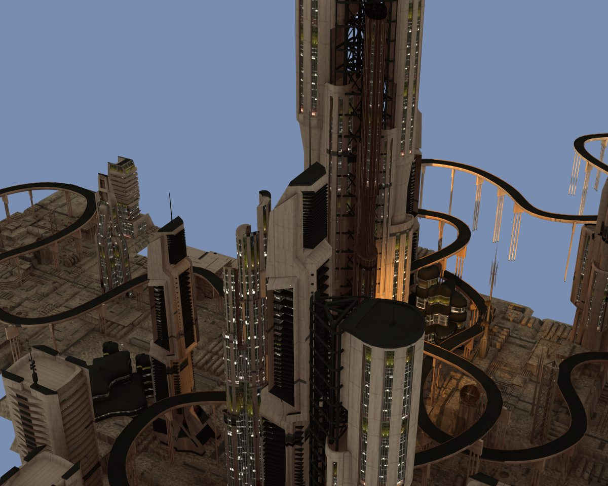Solar Star City | 3D model