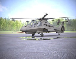 RAH-66 Comanche 3D Model