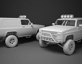 4x4 Truck 3D asset