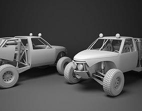 Custom Buggy 3D model