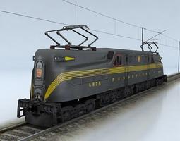 Pennsylvania GG1 3D Model