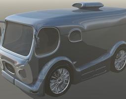 Country Side Van 3D Model