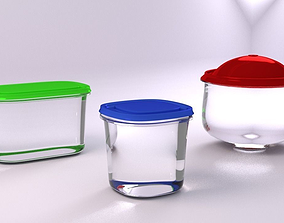 FOOD CONTAINERS 3D model
