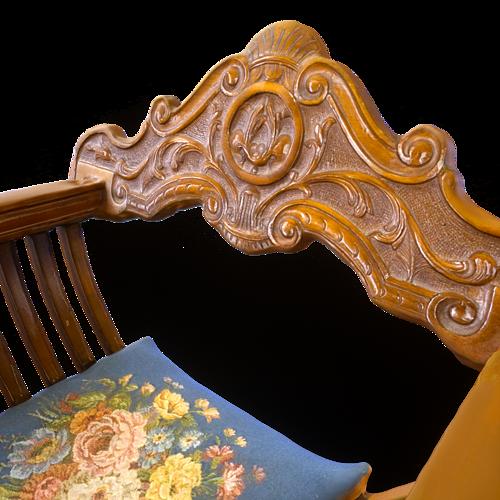 lion chair 3d model obj mtl 1