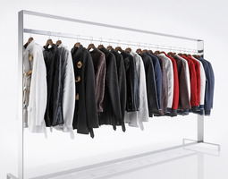 3D Various types of jackets