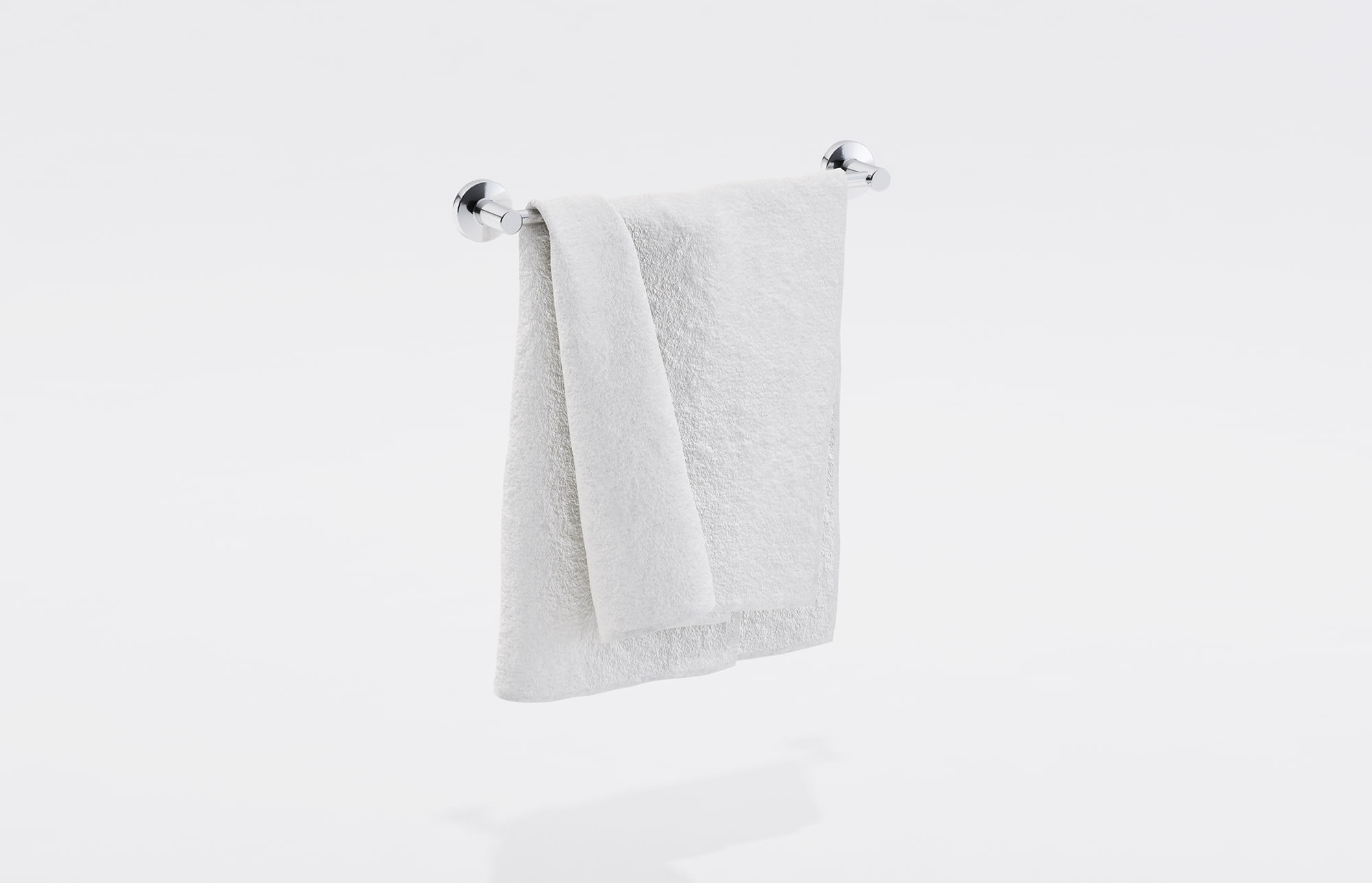 hanging towel. White Towel On A Rack 3D CGTrader Hanging
