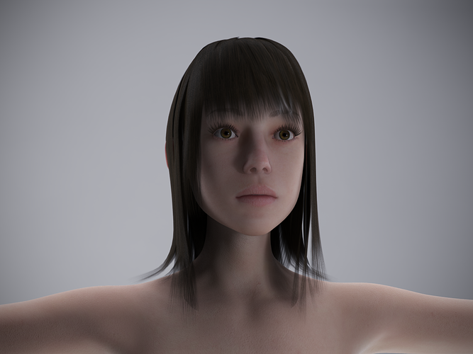 effy for genesis 2 female 3d model obj mtl ztl duf 1