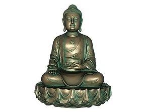 3D printable model figure Buddha