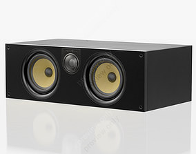 3D model Bowers and Wilkins HTM 62 S2 Black Ash