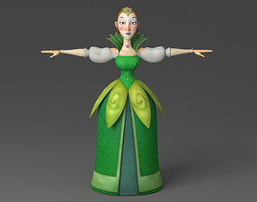 3D model Cartoon princess